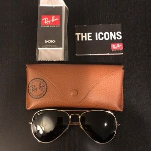 Accessories - Ray Ban Aviator Classic Sunglasses